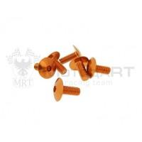 Винты M6x15 - оранжевый [6шт]