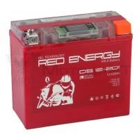 АКБ Red Energy гелевый  YTX 20L-BS, YB18L-A (177 х 88 х 154) LCD дисплей 20Ач