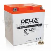АКБ DELTA CT  YTX 30L-BS (168 х 126 х 175) 30Ач
