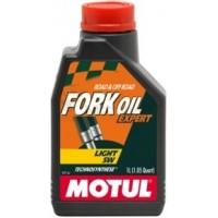 Вилочное масло MOTUL Fork Oil Expert [5W Light] - 1л.