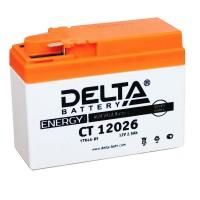АКБ DELTA CT  YTR4A-BS Slim Honda (115 x 50 x 86)