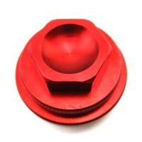 Крышка доступа к клапанам CNC YX110 / 125 - красная