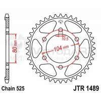 Звезда ведомая JTR1489.40